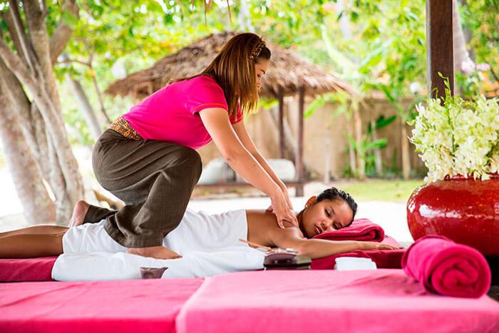 trained masseuses